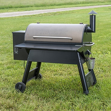 Traeger Pro Series 34 Bronze Wood-Fired Grill