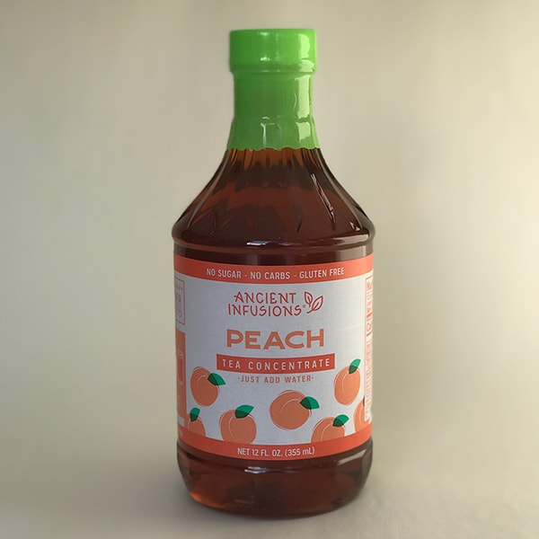 Ancient Infusions Peach Tea Concentrate