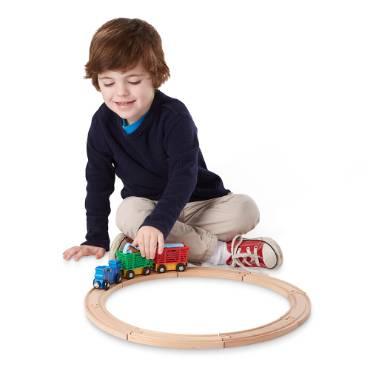 Farm Animal Train Toy Set