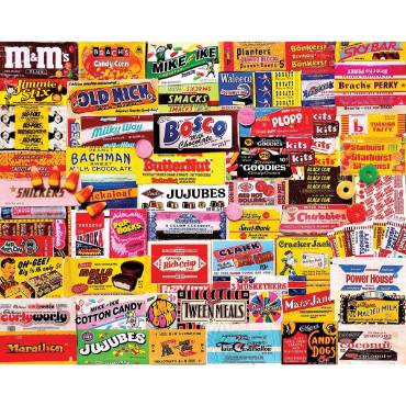 Candy Wrappers Jigsaw Puzzle