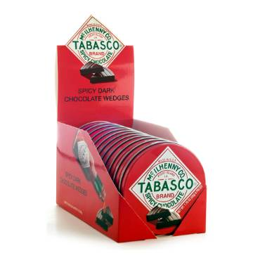 Tabasco Chocolate Wedges Tin