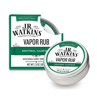 J.R. Watkins Menthol Camphor Vapor Rub