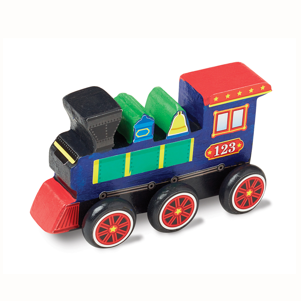 Decorate Your Own Wooden Train Kit