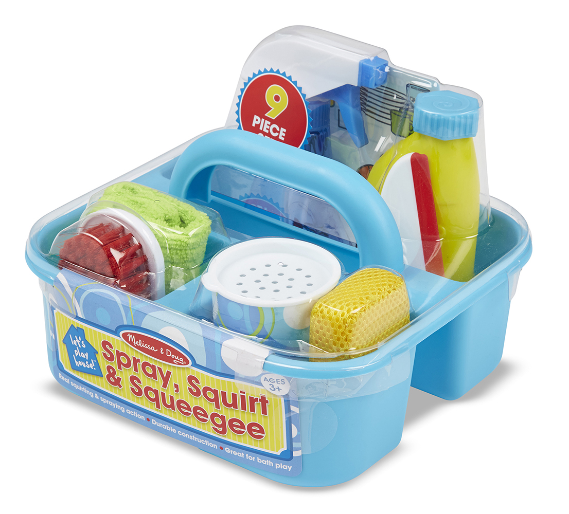 Spray, Squirt and Squeegee Play Set