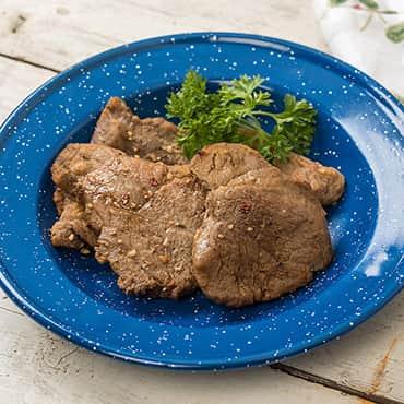 Freeze-Dried Sirloin Steaks