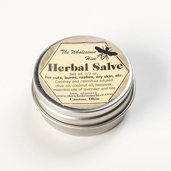 All-Natural Herbal Salves