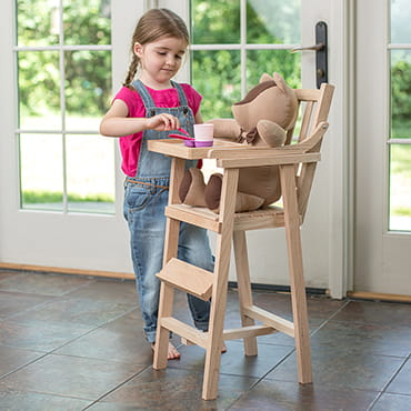 Eli & Mattie Doll High Chair