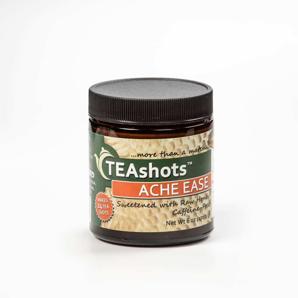 Ache Ease Teashots with Raw Honey