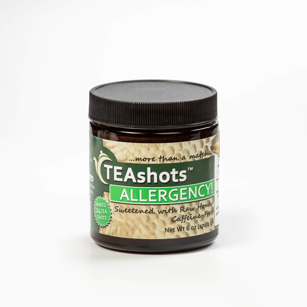 Allergency Teashots with Raw Honey