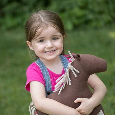 Eli & Mattie Stuffed Horse Toy