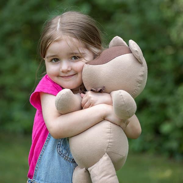 Eli & Mattie Stuffed Bear Toy