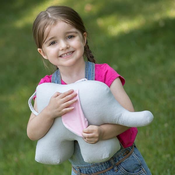 Eli & Mattie Stuffed Elephant Toy
