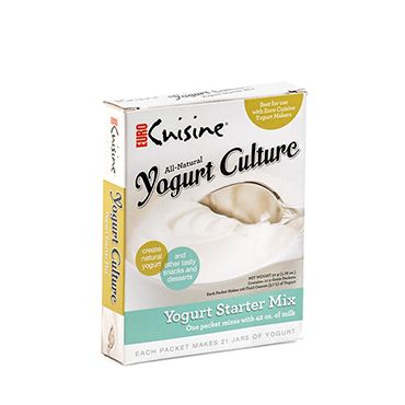 All-Natural Yogurt Starter Cultures for Electric Yogurt Makers