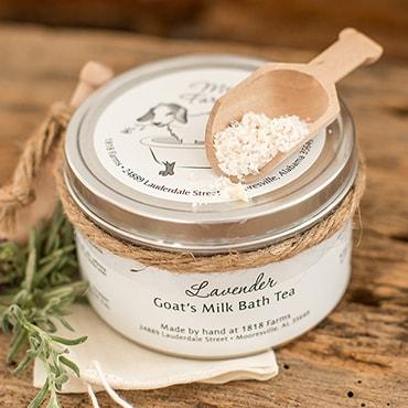 Lavender Goat's Milk Bath Teas