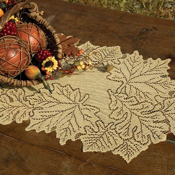 "Maple Leaf Runner - 14""x36"""