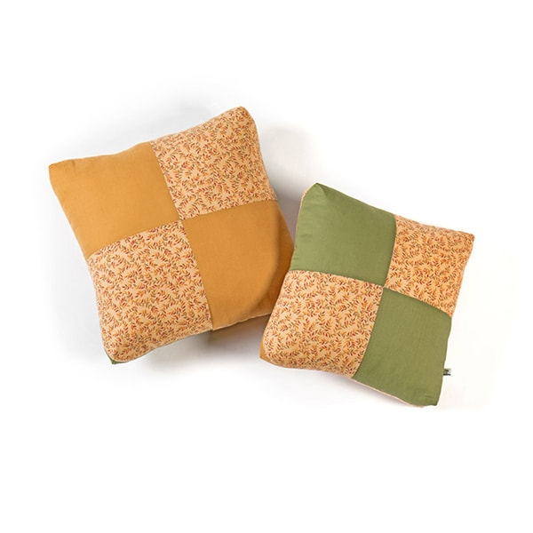 Amish-Made Patchwork Pillows