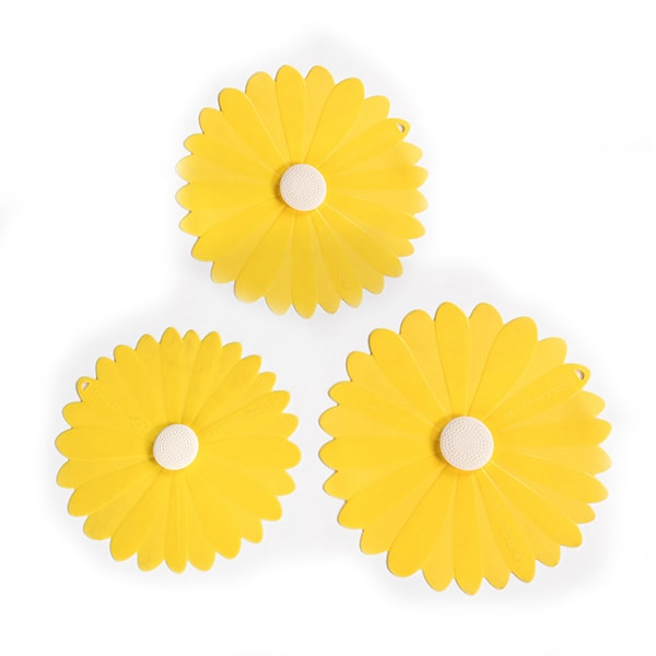 Reusable Bowl Covers – Yellow Daisy