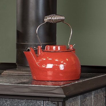 Red Kettle Hearth Steamer