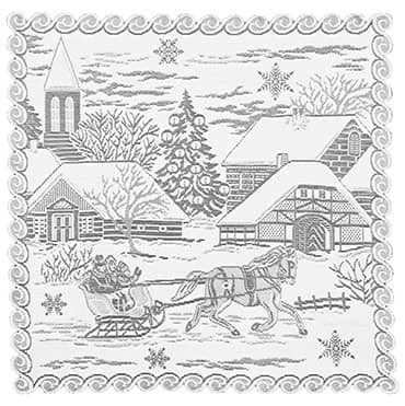 Sleigh Ride Table Topper