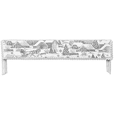 Sleigh Ride Mantle Scarf