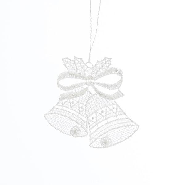 Macrame Bell Ornament