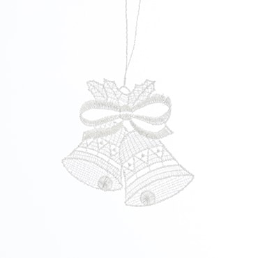 Macrame Bell Ornament