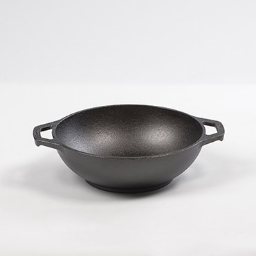 Lodge Cast Iron Mini Wok