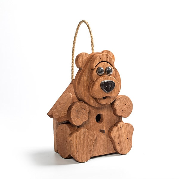 Bear Birdhouse