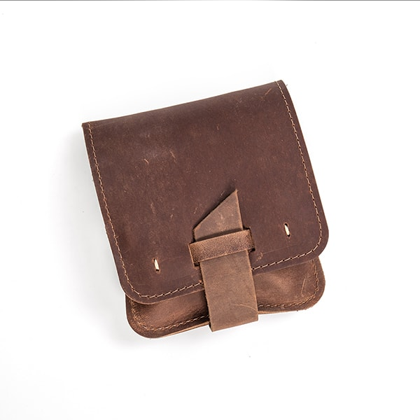 Handcrafted Leather Grooming Pouch
