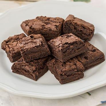 Freeze-Dried Chocolate Brownies