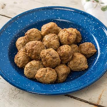 Freeze-Dried Beef Meatballs