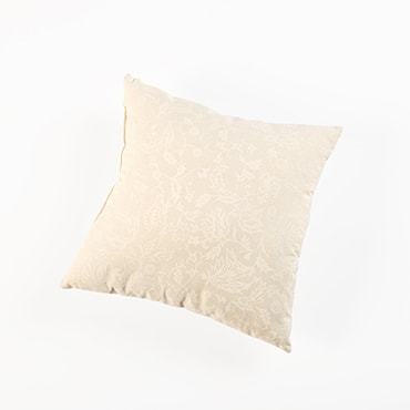 Amish-Made Floral Pillows – Cream
