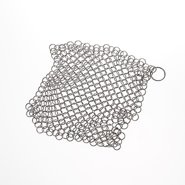 Extra Large Chainmail Scrubber for Cast Iron