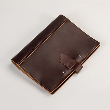 Handcrafted Leather Composition Journal