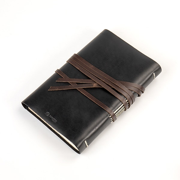 Handcrafted Leather Messenger Journal