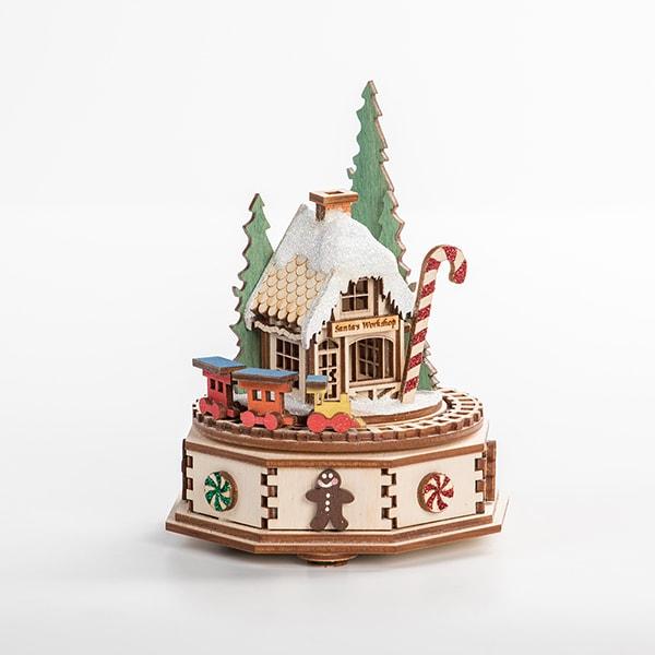 North Pole Music Box