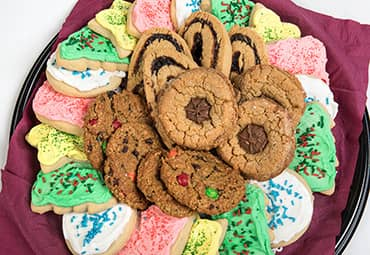 Assorted Christmas Cookie Tray