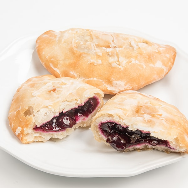 Amish Blueberry Fry Pies - Pack of 6