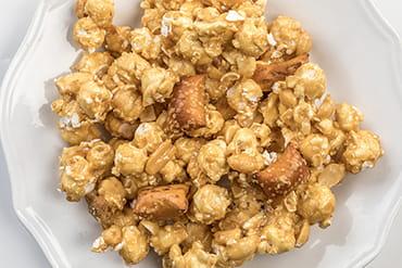 Lehman's Peanut Butter Pretzels & Peanut Butter Caramel Corn