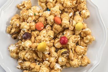 Lehman's Peanut Butter Chocolate Candy & Peanut Caramel Corn