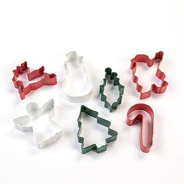 Christmas Cookie Cutters - 7-Piece Set