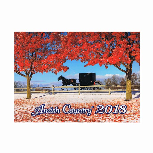 Amish Country 2018 Calendar