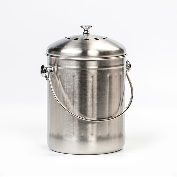 Stainless Steel Odor-Free Compost Pail