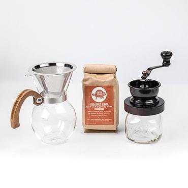 Pour-Over Coffee Maker Set