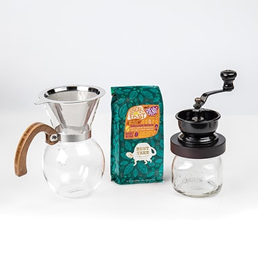 Pour-Over Coffee Maker Set