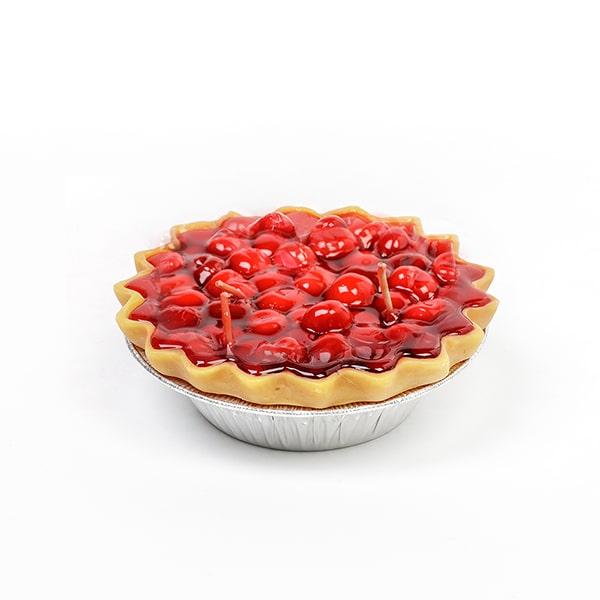 Cherry Pie Dessert Candles