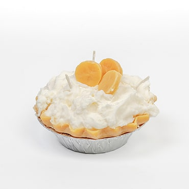 Banana Pie Dessert Candles