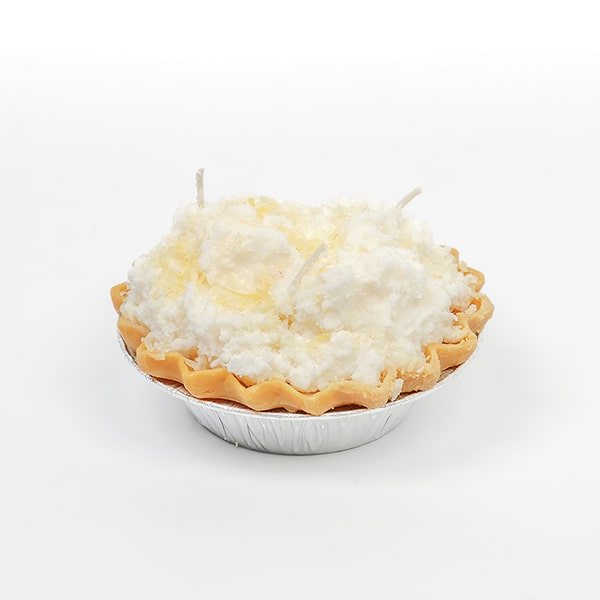 Coconut Cream Pie Dessert Candles