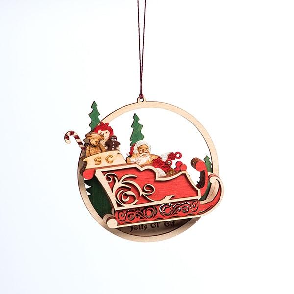 Jolly Ol' Elf Ornament