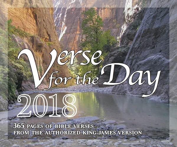 Verse for the Day 2018 Desk Calendar